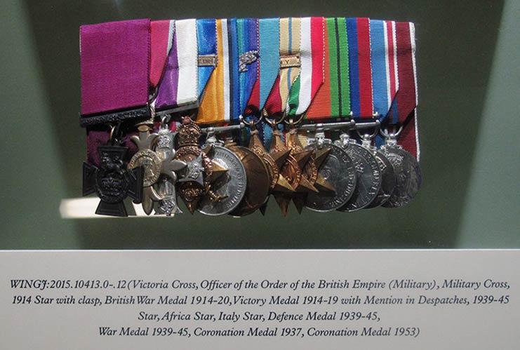 Woolley Victoria Cross display