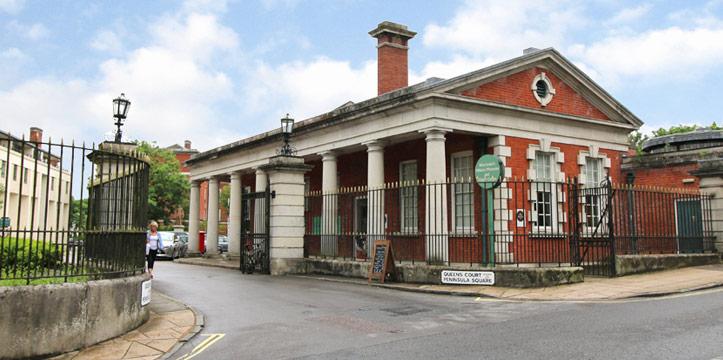 Museum main entrance